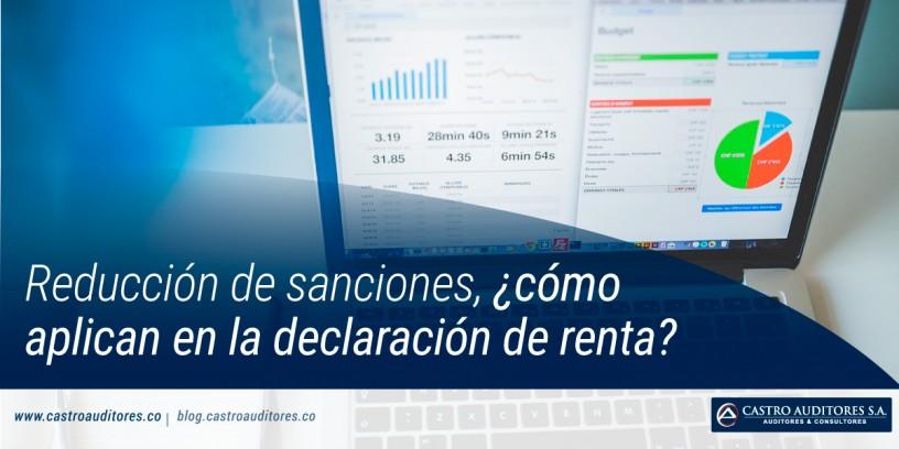 Reducción de sanciones, ¿cómo aplican en la declaración de renta?