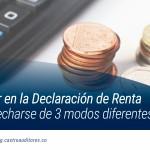 Saldo a favor en la declaración de renta puede aprovecharse de 3 modos diferentes