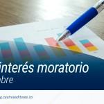 Tasa de Interés Moratorio para noviembre | Blog de Castro Auditores