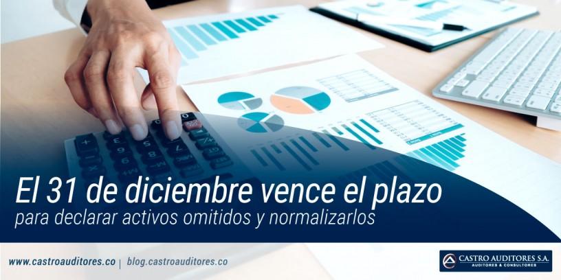 El 31 de diciembre vence el plazo para declarar activos omitidos y normalizarlos | Blog de Castro Auditores