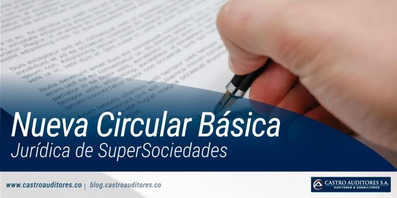 Nueva Circular Básica Jurídica de SuperSociedades | Blog de Castro Auditores