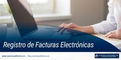 Registro de Facturas Electrónicas | Blog de Castro Auditores - Castro Auditores
