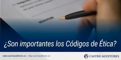 ¿Son importantes los Códigos de Ética? | Blog de Castro Auditores
