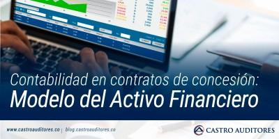 Contabilidad en contratos de concesión: Modelo del Activo Financiero | Blog de Castro Auditores