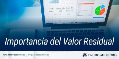 Importancia del Valor Residual | Blog de Castro Auditores