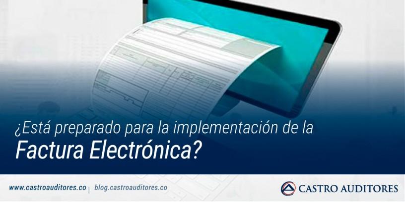 ¿Está preparado para la implementación de la Factura Electrónica? | Blog de Castro Auditores