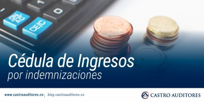Cédula de ingresos por indemnizaciones | Blog de Castro Auditores