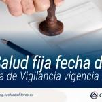 SuperSalud fija fecha de pago de la Cuota de Vigilancia vigencia 2018 | Blog de Castro Auditores