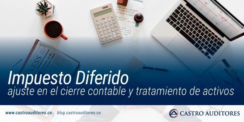 Impuesto Diferido: ajuste en el cierre contable y tratamiento de activos | Blog de Castro Auditores