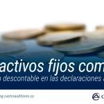 IVA de activos fijos comprados se tratará como descontable en las declaraciones a partir de 2019