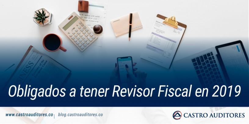 Obligados a tener revisor fiscal en 2019 | Blog de Castro Auditores