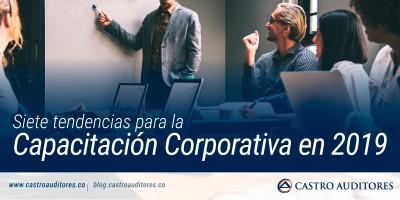 Siete tendencias para la Capacitación Corporativa en 2019 | Blog de Castro Auditores