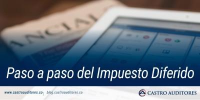 Paso a paso del Impuesto Diferido | Blog de Castro Auditores