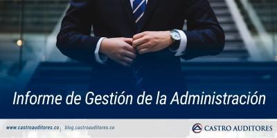 Informe de Gestión de la Administración | Blog de Castro Auditores