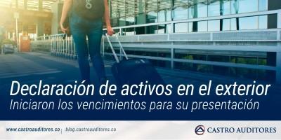 Declaración de activos en el exterior | Blog de Castro Auditores