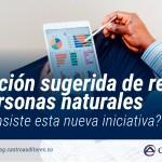 Declaración sugerida de Renta para Personas Naturales