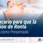 Sello bancario para que la Declaración de Renta se entienda como Presentada | Blog de Castro Auditores