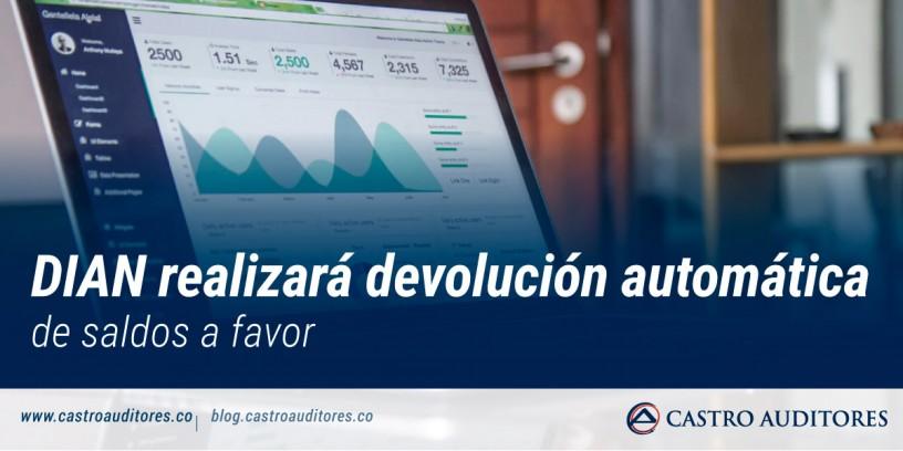 DIAN realizará devolución automática de saldos a favor   Blog de Castro Auditores
