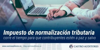 Impuesto de Normalización Tributaria | Blog de Castro Auditores