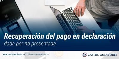 Recuperación del pago en declaración dada por no presentada | Blog de Castro Auditores