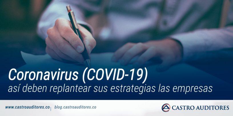 Coronavirus (COVID-19): así deben replantear sus estrategias las empresas